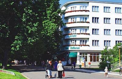 Hotel Bellevue-Tlapák Lázně Poděbrady