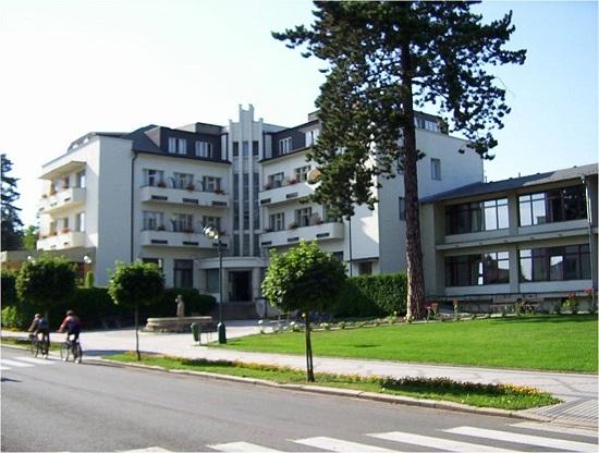 Гостиница Гранд Лазне Белоград