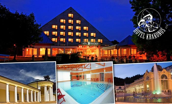 Wellness Sonderangebote Nowyi in Marienbad Hotels-Krakonos