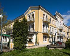 Lazensky hotel BELVEDERE Frantiskovy Lazne