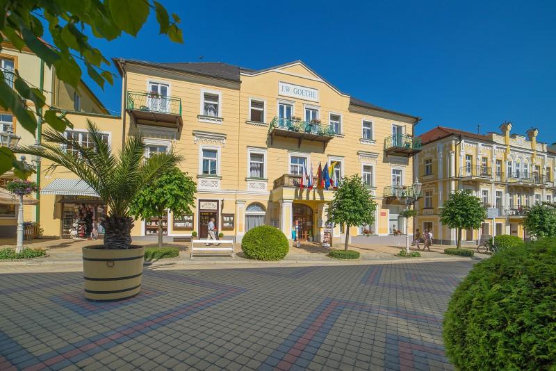 Lazensky hotel GOETHE Frantiskovy Lazne