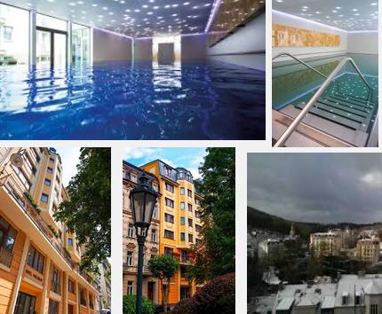 Luxus Spa Wellness Hotel & Präsident von Karlovy Vary