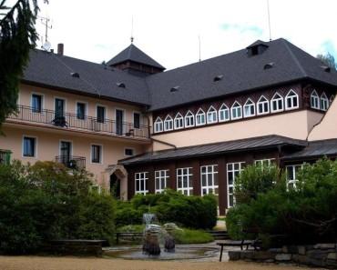Lázeňský hotel Eliška Lázně Velké Losiny Termály