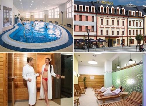Отель Слован Лазне Есеник
