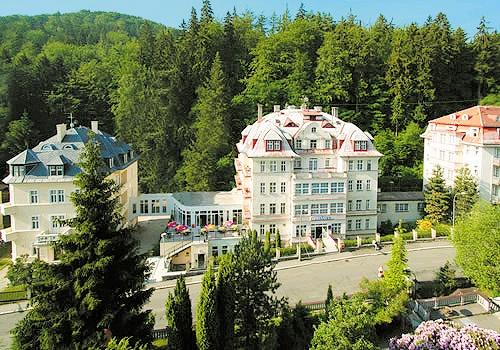 Hotel Manes Lazenska Lecebna Karlovy vary