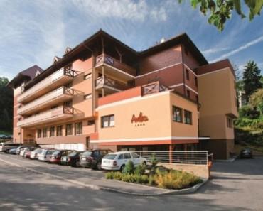 wellnes hotel rezidence ambra luhacovice